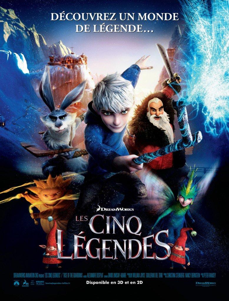 Vendredi 1 fevrier 2013 20h30 dans cinema les-cinq-legendes-affiche-france-1